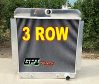 3 ROW Aluminum Radiator For 1955-1959 Chevy Chevrolet PICK UP TRUCK V8 AT