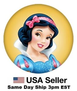 Snap Jewelry Princess Snow White Enamel 18-20mm Fits Ginger Charms Accessories N