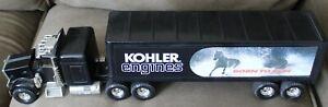 "ERTK 22 "" Vintage kohler engines  born to run semi  truck trailer"