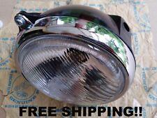 "Honda S110 TS50 DX CT125 XL125 XL175 Headlight & Case Bucket 6"" - FREE SHIPPING"
