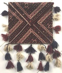 Alte Perser Yomut Turkmen Teppich Bokche Sammler Old Persian Rug Alfombra Tapis