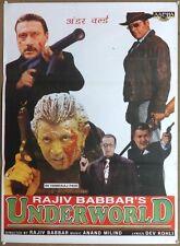 "India Bollywood 1997 Shapath Or Underworld 28"" x 38"" poster Mithun Jackie"