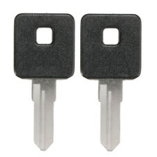 2pcs Motorcycle Ignition Key Blank Fit For Harley-Davidson 1200 883 Sportster