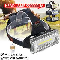 LED USB wiederaufladbare 18650 Scheinwerfer Scheinwerfer Angeln Taschenlampe