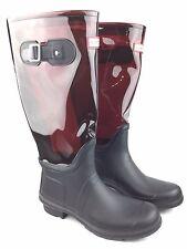 Hunter Original Clear Leg Rubber Wellington Rainboots sz: US 10 Female