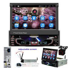 1Din Android 8.0 Autoradio DVD/CD WIFI GPS USB AUX BT Autoradio con fotocamera