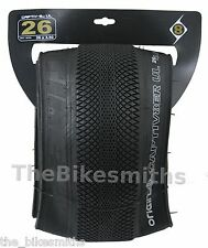 "Origin8 Captiv8er UL 26""x 3.5"" Folding Fat Bike Speed Street Tire Captivator Vee"