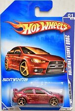 HOT WHEELS 2009 FASTER THAN EVER 2008 LANCER EVOLUTION #01/10 W+