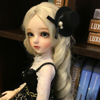 New 1/3 Handmade PVC BJD MSD Lifelike Doll Joint Dolls Women Girl Gift Leia 24""