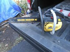 Mcculloch Eager Beaver Chainsaw 14'' Climbing Saw