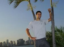 Novak Djokovic ‏ 10 x 8 UNSIGNED photo - P22 - HANDSOME!!!!