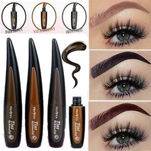 Waterproof Tattoo Eyebrow Gel Tint Brown Peel Off Henna Paint Enhancers 1PC