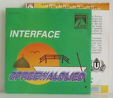 "7"" Interface Spreewaldlied  Sunwood Records 1992 mit Plattenpass rar"