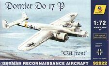 "Bombardier Allemand DORNIER 17 P ""OSTFRONT""  - KIT RS MODELS 1/72 - N° 92022"