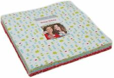 "Vintage Holiday Flannels Moda Layer Cake 42 100% Cotton 10"" Precut Squares"