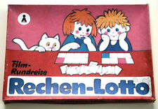 Film-Rundreise Rechen-Lotto, Rechenspiel, DDR 1987 VEB Plasticart, ungespielt!