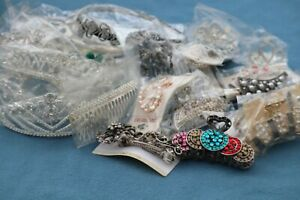 Beautiful Hair Accessories x 25 - Bands Clips Tiaras - Great Quality Job Lot NEW