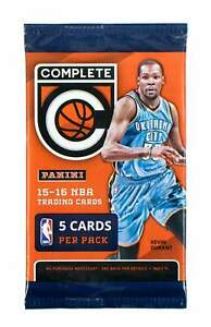 2015-16 Panini Complete NBA Basketball cards - Retail Pack