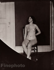 1912 New Orleans Nude Female Prostitute E.J. Bellocq Vintage Louisiana Photo Art