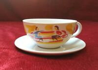 CAPPUCCINO COFFEE CUP & SAUCER MADE EXCLUSIVELY FOR NESCAFE