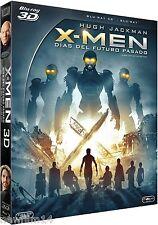 X-MEN DIAS DEL FUTURO PASADO 3D BLU RAY XMEN NUEVO ( SIN ABRIR )