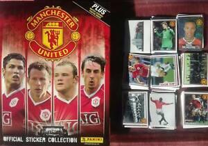 Manchester United 2006-2007 Panini Album + complete set