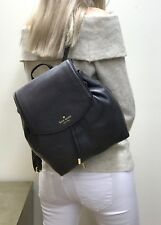 KATE SPADE MULBERRY STREET SMALL BREEZY LEATHER BACKPACK BAG BLACK