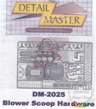 Detail Master 1/24 Blower Scoop Hardware
