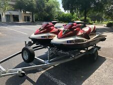 Twin Sea Doos (GTX 4-Tec Limited) With Double Trailer For Sale