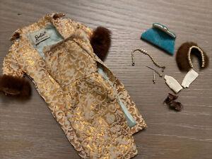 Vintage Barbie Outfit EVENING SPLENDOUR #961 Near Complete- Needs Hankie 1960's