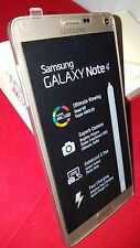 Samsung Galaxy Note 4 3 G 4 G Sim Free Mobile Phone SM-N910 Débloqué Or Rose