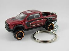 2017 FORD F-150 RAPTOR Pickup Truck Off Road Ruby Red Key FOB Keyring Keychain