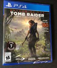 Shadow of The Tomb Raider [ Definitive Edition ] (Ps4) New