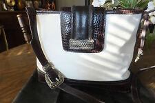 Madison Handbag RN 59631, Body & Trim: Genuine Leather, Lining 100% Polyester