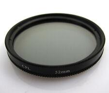 Optics 52mm CPL 40.5MM 55 58 62 67 Circular Polarizer Lens Filter for nikon sony