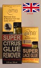 GENUINE NEW Lace wig GLUE BMB CRAZY HOLD TUB & REMOVER **STRONG**COMBO OFFER**