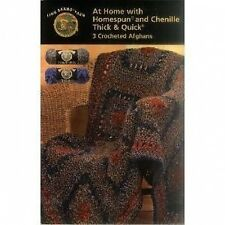 Crochet pattern notice-at home afghans - 3 designs