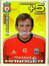 ADRENALYN XL LIVERPOOL FC 11/12 - #123 manager Kenny Dalglish-Power Up