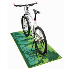 NUOVA MOUNTAIN BIKE MTB Garage / Verde Workshop FLOOR MAT - (180 x 80 cm)