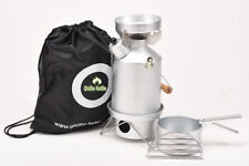 Ghillie Kettle 1.0L Explorer Silver Anodised Full KIt