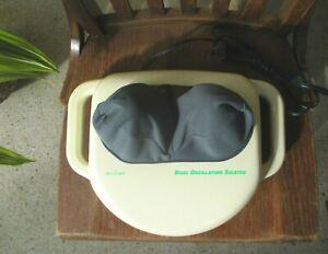 AcuVibe HWE 7003 Personal Shiatsu Kneading Back Feet Neck Massager Japan