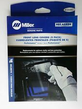 MILLER Electric Genuine 231921 FRONT LENS COVER Performance Series 5/PK