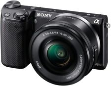 Sony Alpha NEX-5T Digital Camera - Kit with 16-50mm & 50-210mm zoom lenses & bag