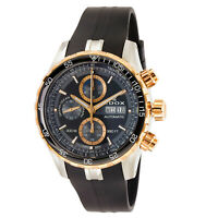 NEW Edox Grand Ocean Men's Chronograph Automatic Watch - 01123 357RCA NBUR