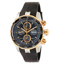 NEW Edox Grand Ocean Men's Chronograph Automatic Watch - 01123 357RCA NBUR