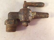 Antique/Vtg BRASS WATER STEAM VALVE FAUCET SMALL SPIGOT STEAMPUNK 3 1/2