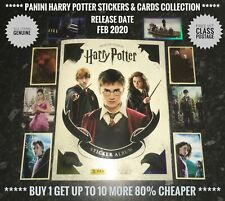 Panini HARRY POTTER Collection, No.121-216 Cards 1-50, Free Post, Genuine