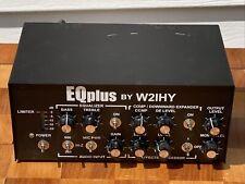 EQplus by W21HY Audio Equalizer Ham Radio Equipment