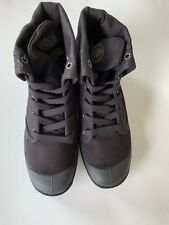 Womens Palladium Baggy Boots - Black Canvas Size 8 1/2 (92353060]