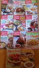 LOT of 11 Taste Of Home Magazines 2004-2014 Recipe Ideas Home Cooking Desserts